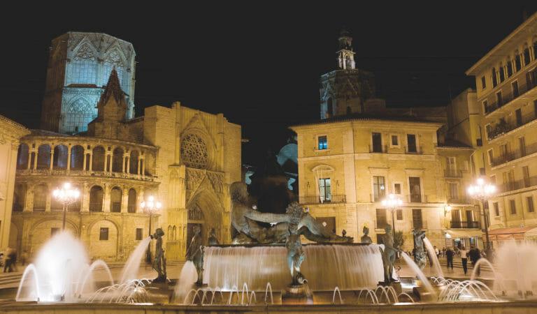 Ruta por el centro histórico de Valencia a pie