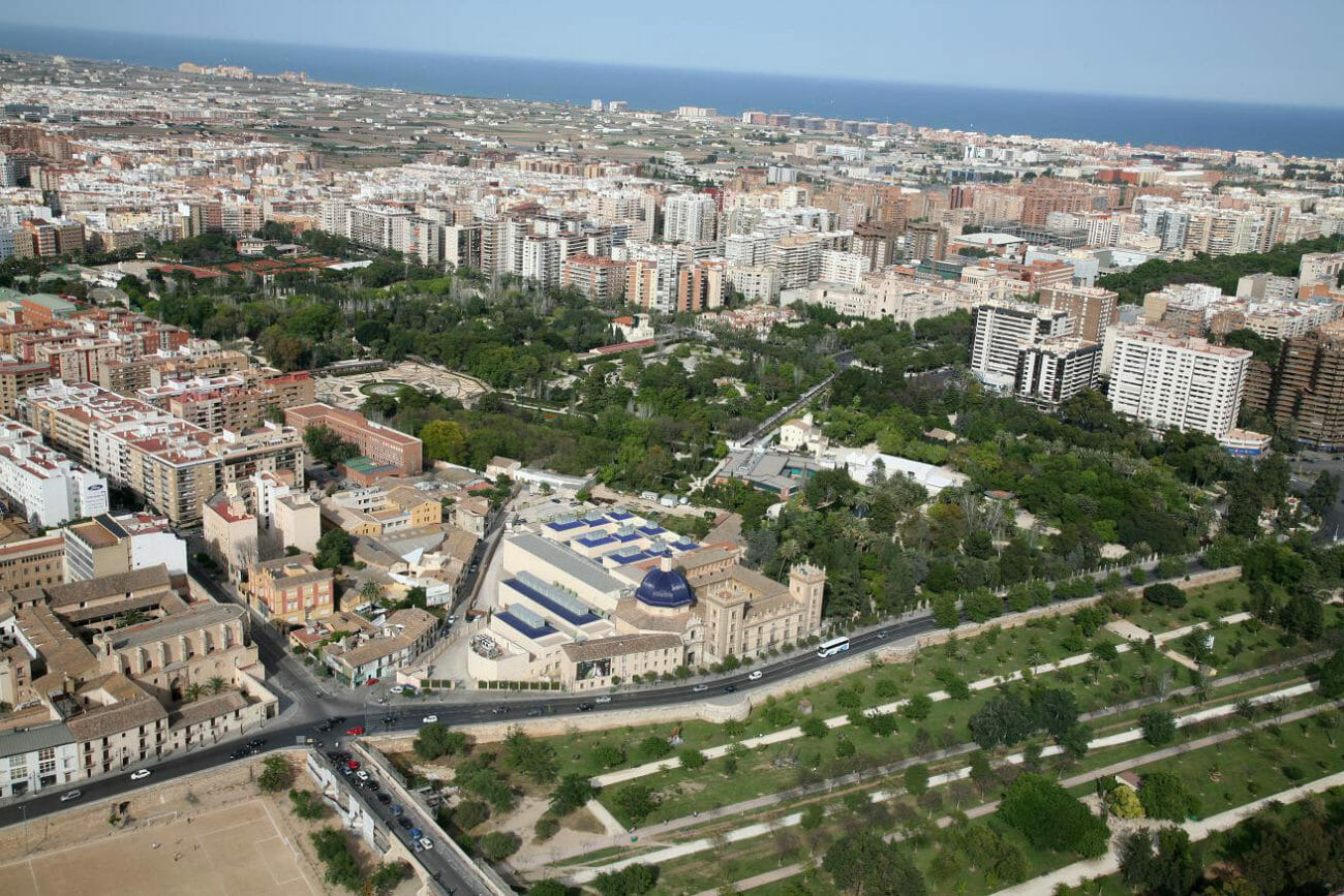 Cauce del rio Turia Valencia