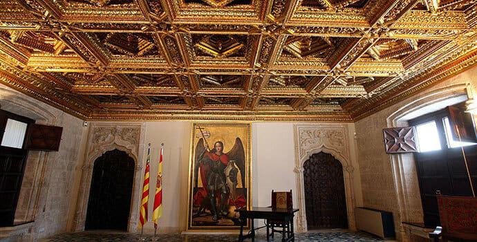 Interior del Palau de la Generalitat de Valencia