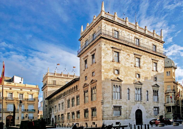 El Palau de la Generalitat de Valencia