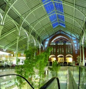 Nave central Mercado Colón