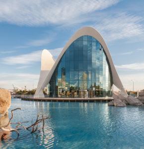 L'Oceanogràfic en la Ciudad de las Artes y las Ciencias, el mayor acuario de Europa