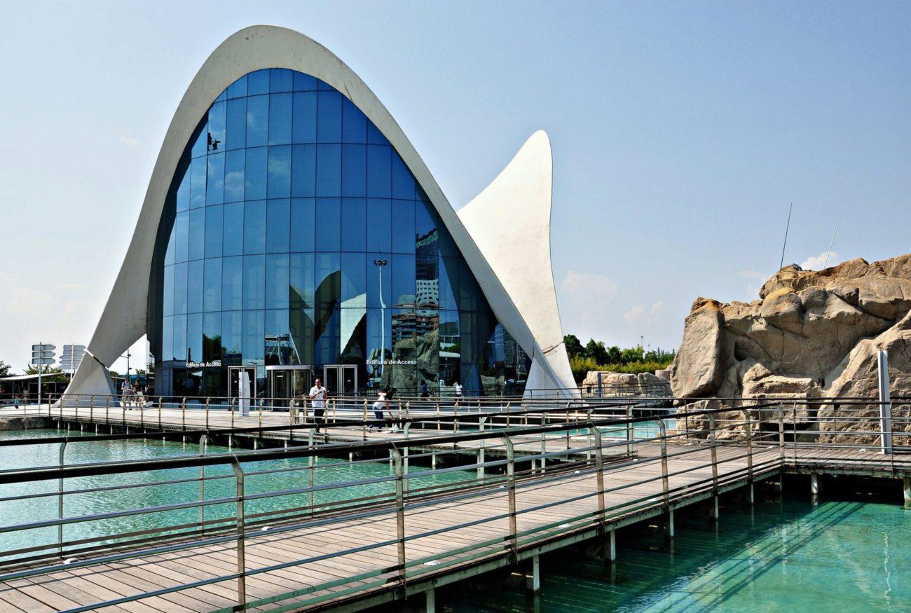 Edificio principal Oceanogràfic Valencia